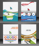 Flyer & Poster Template. Set of Corporate Flyer & Poster Template Royalty Free Stock Image