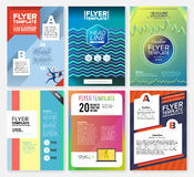 Flyer Royalty Free Stock Images