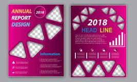 Business Flyer Template - Fresh Brochure Annual Report - Colorful Leaflet Layout Template. Flyer Template Brochure Template Business Template Annual Report Book vector illustration