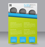 Flyer template. Brochure design.  A4 business cover. Stock Photos