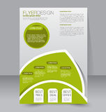 Flyer template. Brochure design.  A4 business cover. Royalty Free Stock Photos