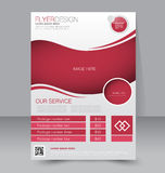 Flyer template. Brochure design.  A4 business cover. Stock Images