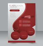 Flyer template. Brochure design.  A4 business cover. Stock Photo