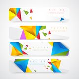 Flyer template header design Royalty Free Stock Photos