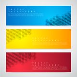 Flyer template header design Royalty Free Stock Photo
