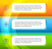 Flyer-template-page-layout-option-number Royalty Free Stock Photography