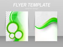 Flyer template Stock Photo