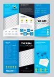Flyer Trasparent Design Stock Photography