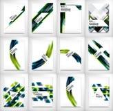 Flyers, Brochure Design Templates set, Layouts Royalty Free Stock Photos