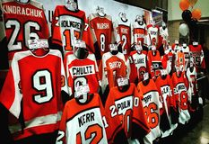 Flyers Royalty Free Stock Photos