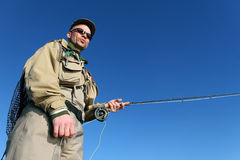 FlyFisher Royalty Free Stock Image