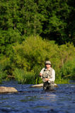 Flyfishing Stock Images