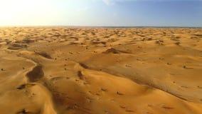 Flyg över mellersta - östlig öken lager videofilmer