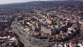 Flyg över Sopron, Ungern lager videofilmer