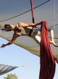 flyg- acrobatics Royaltyfri Foto