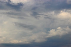 flyg- bakgrund clouds skysikt Arkivfoto