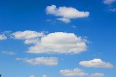 flyg- bakgrund clouds skysikt Royaltyfria Foton
