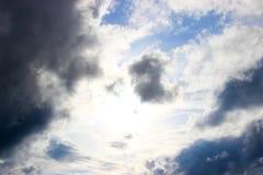flyg- bakgrund clouds skysikt Arkivfoton