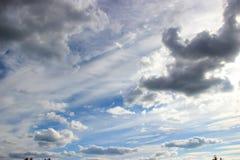 flyg- bakgrund clouds skysikt Arkivbilder