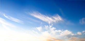 flyg- bakgrund clouds skysikt Royaltyfri Foto