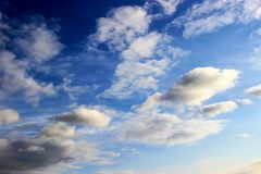 flyg- bakgrund clouds skysikt Royaltyfri Fotografi