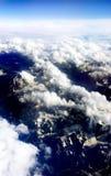 Flyg- berg Fotografering för Bildbyråer