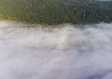 flyg- bergsikt Arkivbilder