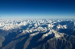 flyg- bergsikt Arkivfoto