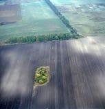 flyg- bild Arkivfoton