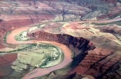 flyg- Coloradofloden Arkivfoton