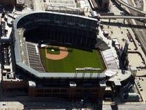 Flyg- Coors fält - Colorado Rockies baseball Royaltyfri Fotografi