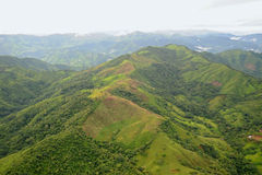 flyg- Costa Rica sikt Arkivfoton