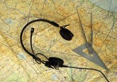 Flyg diagram Fotografering för Bildbyråer