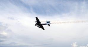 Flyg för jippo för bombplan för världskrig 2 plant Arkivfoto