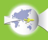 Flyg för luftnivå Arkivbild