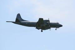 flyg för morgonrodnad cp140 Arkivfoton