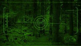 Flyg för Nightvision surrPOV i skog
