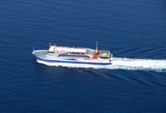 flyg- fartygfärja royaltyfria foton