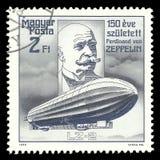 Flyg Ferdinand von Zeppelin royaltyfri fotografi