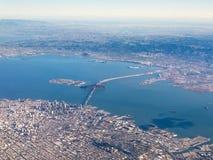 Flyg- fotografi av San Francisco Arkivfoton