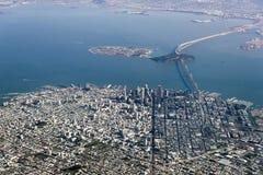 Flyg- fotografi San Francisco Fotografering för Bildbyråer