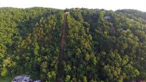 Flyg- Gatlinburg Tennessee lager videofilmer