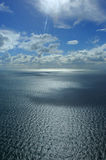 flyg- hav Royaltyfri Bild
