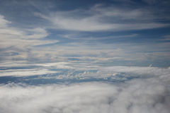 Flyg- himmel Arkivfoton