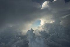 Flyg- himmel Royaltyfria Foton