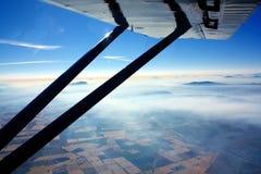 flyg- horisontsikt Royaltyfria Bilder
