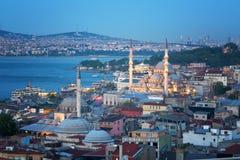 flyg- istanbul sikt Arkivfoto