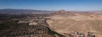 flyg- Las Vegas sikt Arkivbilder