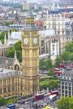 flyg- london sikt Fotografering för Bildbyråer