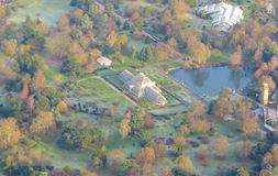 flyg- london sikt Royaltyfria Bilder